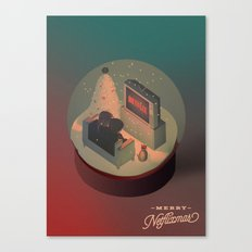 Merry Netflixmas Canvas Print