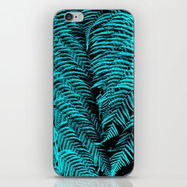 Turquoise Twosome iPhone Skin