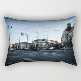 Streets of Budapest Rectangular Pillow