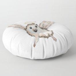 Angel hedgehog Floor Pillow