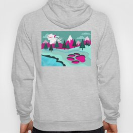 Monster Cat in the Mountains Hoody