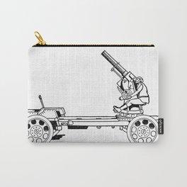 Anti-aircraft gun. Carry-All Pouch
