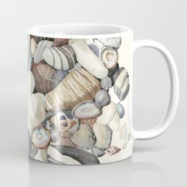 Sea shore of Crete Coffee Mug