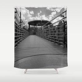 Bridge in Kingsley Falls, #Canada Shower Curtain