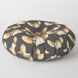 Flying Toasters Floor Pillow