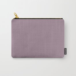 Solid Color Series - Desaturated Magenta Carry-All Pouch