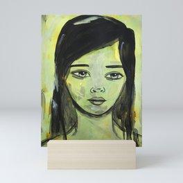 Ink Portrait Mini Art Print