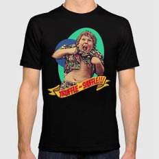 Truffle Shuffle! Mens Fitted Tee Black 2X-LARGE