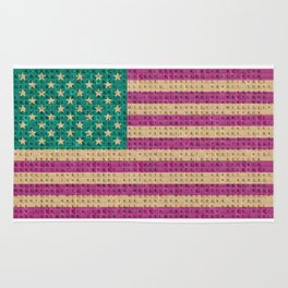 The Stars and Stripes #3 Rug