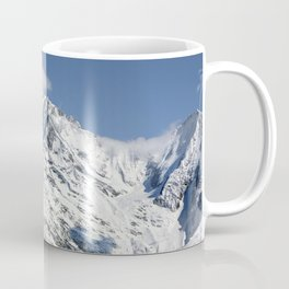 Mt. Blanc with clouds Coffee Mug