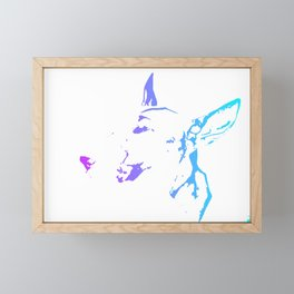 English Bull Terrier Framed Mini Art Print