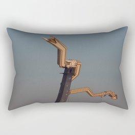 down, down Rectangular Pillow