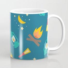 Camping Night Lights Coffee Mug