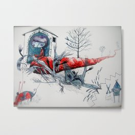 [picture of  bad dream ] Metal Print