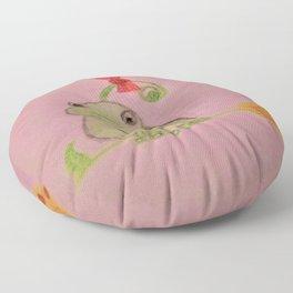 Happy  Frog Floor Pillow