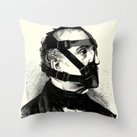bdsm Throw Pillows featuring BDSM XXXX by DIVIDUS