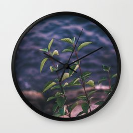 Storm weather Wall Clock