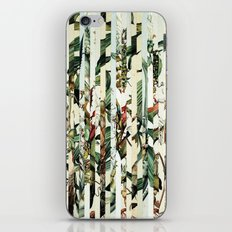 Flowr_02 iPhone & iPod Skin