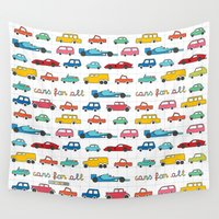 mustang Wall Tapestries featuring Cars for all by Magnetic Boys