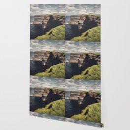 Irish Sea Cliffs Wallpaper