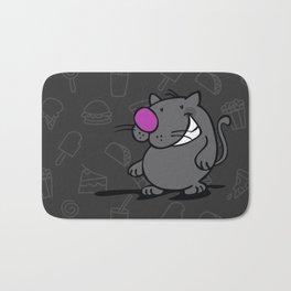 Fat Cat Bath Mat