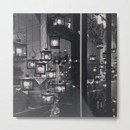 Lights in Bern Metal Print