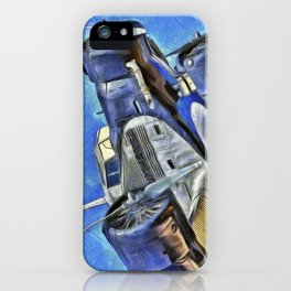 Junkers Ju 52 Van Gogh iPhone Case