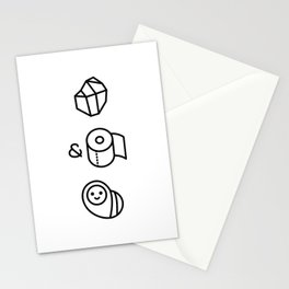 Rock & Roll, baby! Stationery Cards