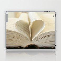 Book Heart Laptop & iPad Skin