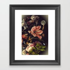 Under the moon of love Framed Art Print