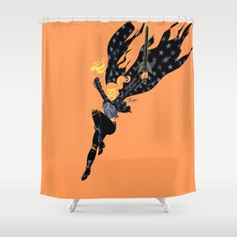 Emberwitch Shower Curtain