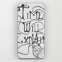 All in Good Time iPhone Skin