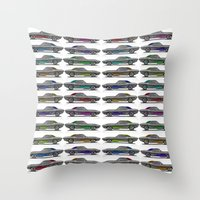 muscle Throw Pillows featuring muscle by ErsanYagiz