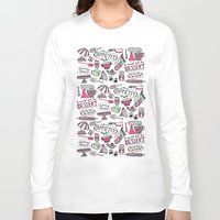 kitchen Long Sleeve T-shirts featuring Kitchen by Beatriz Sanches