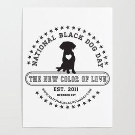 Black Dog Day Official Logo Poster