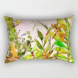 Woodland Meadow 1 Rectangular Pillow
