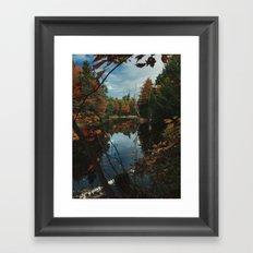 New York Fall Framed Art Print