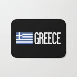 Greece: Greek Flag & Greece Bath Mat