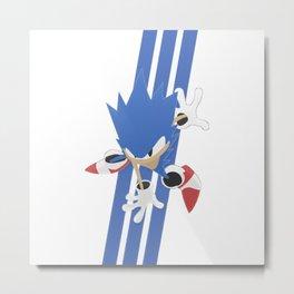 Sonic the hedgehog 1 Metal Print