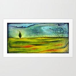 Cypress Wind Art Print