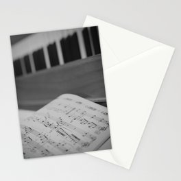 Sheet Music Stationery Cards