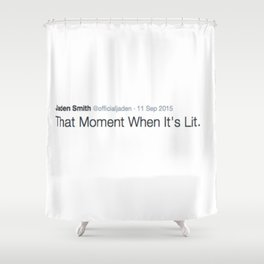 DEEP THOUGHT #5 Shower Curtain