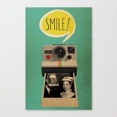 Color Chaos Collection -- Smile Canvas Print