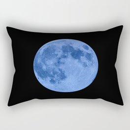 MOON GLOW BLUE Rectangular Pillow