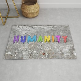 Humanity Paint Rug