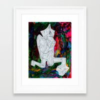 kermit Framed Art Prints featuring Kermit by Masonjohnson