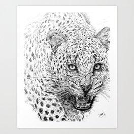 Snarl Art Print