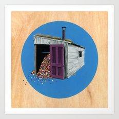 Sheds & Shacks | No:2 Art Print