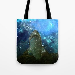 The Great White Marine Lava Lamp Tote Bag