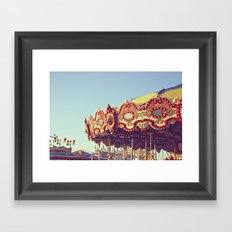 Carnival Fun Framed Art Print